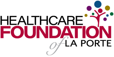 healthcare foundation of laporte logo